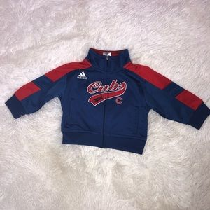 Adidas Chicago Cubs Full Zip Jacket Size 12M
